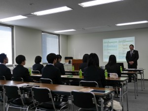 開催のご挨拶は、第一倉庫 小泉社長にお願いしました。