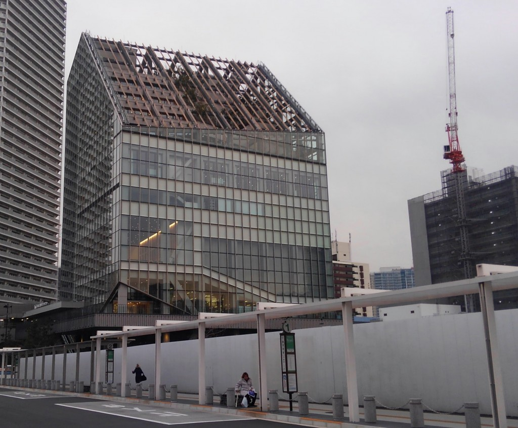 会場となったのは、豊洲シビックセンター。ゆりかもめ豊洲駅に直結する、足回りの良い新しいビルです。