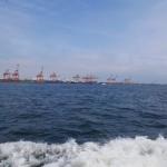 こちらは、青海コンテナ埠頭ですね。