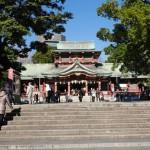 富岡八幡宮。