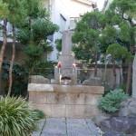 間宮林蔵の墓。