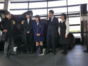 羽田クロノゲートには、新入社員の佐久間、松木も参加しました。