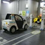 有楽町駅前のファッションビル地下2階にあるHa:moの専用駐車場。