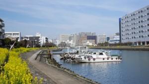 場所は品川区勝島付近の各社物流センターが立ち並ぶあたり。こんな場所があったんですね。