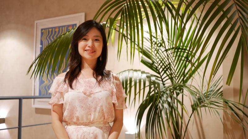 株式会社MAIAの月田CEO。ご本人も、とても素敵な女性です。インタビューにお応えいただき、ありがとうございました。